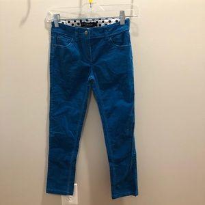 Mini Boden Size 9Y Blue Corduroy Pants